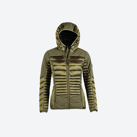 8cf7ee19cf NORTHLAND light down jacket with mix material